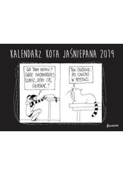 Kalendarz 2019 Ścienny - Kota Jaśniepana