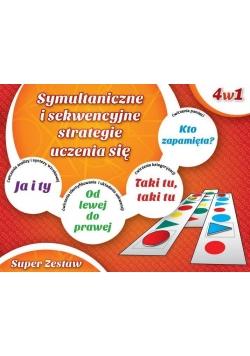 Super zestaw 4w1 Symult. i sekwen. strategie ucz.