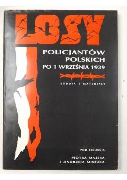 Losy policjantów polskich po 1 września 1939