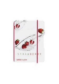 Notatnik A6/40K kratka My.BookF Fruit truskawki
