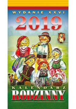 Kalendarz 2019 Rodzinny Zdzierak TELEGRAPH