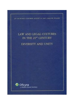 LAw and legal cultures in the 21st century