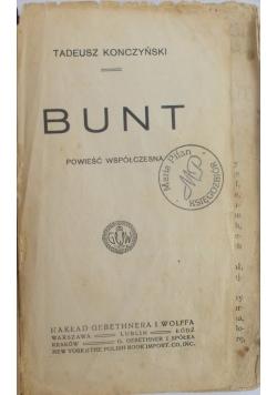 Bunt, 1914 r.