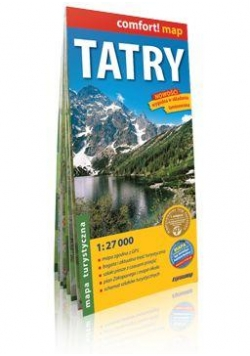 Comfort!map Tatry 1:27 000 mapa