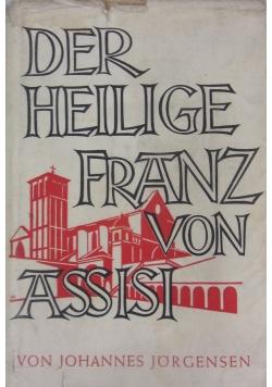 Der heilige Franz von Assisi, 1935 r.