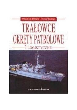 Trałowce, okręty patrolowe i logistyczne