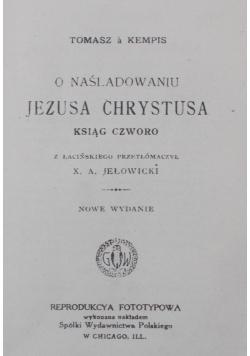 O naśladowaniu Jezusa Chrystusa , 1910 r.