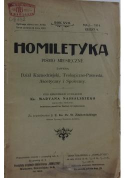 Homiletyka, 1914 r.