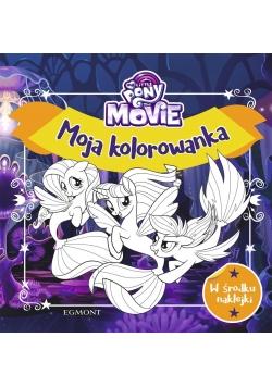 My Little Pony The Movie. Moja kolorowanka