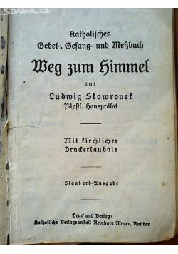 Weg zum Himmel, 1936 r.
