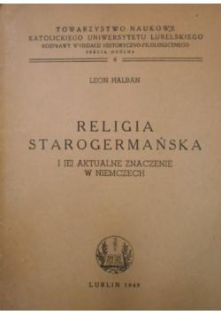 Religia starogermańska, 1949 r.