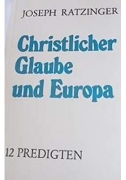 Christlicher Glaube und Europa
