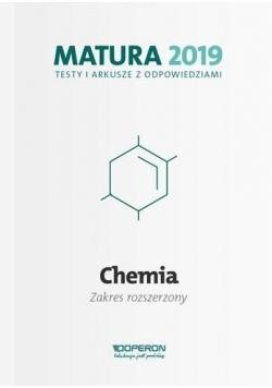 Matura 2019 Chemia. Testy i arkusze ZR OPERON
