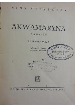 Akwamaryna,1946r