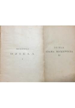 Adam Mickiewicz, Dzieła, Tom I-II, 1898 r.