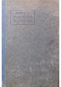 Merck's Reagenzien-verzeichnis,1924