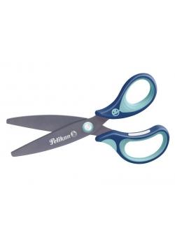 Griffix Nożyczki ergonomiczne niebieskie