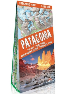 Mapa trekkingowa - Patagonia 1:160 000