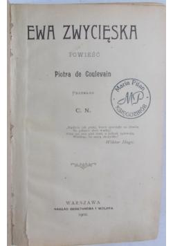 Ewa Zwycięska, 1902 r.