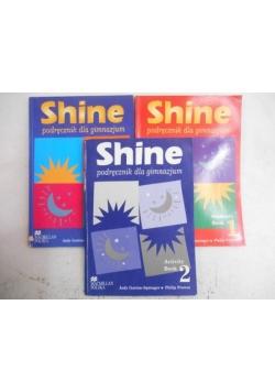 Shine, 2 podręczniki + ćwiczenia