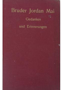 Gedanken und Erinnerungen, 1928 r.