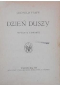 Dzień duszy, 1922 r.