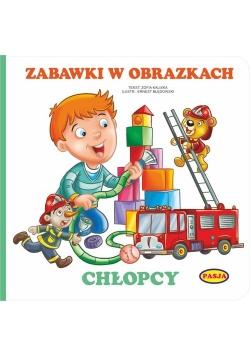 Zabawki w obrazkach - Chłopcy