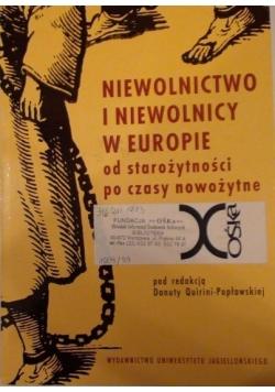 Niewolnictwo i niewolnicy w Europie