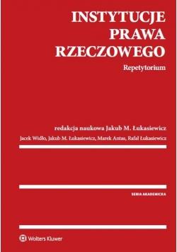 Instytucje prawa rzeczowego Repetytorium