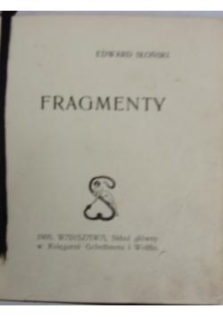 Fragmenty. 1905 r.