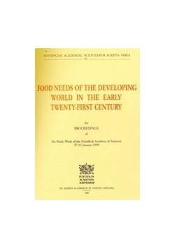 Food needs of the developing world in the early twenty first century