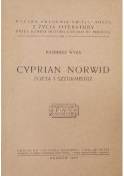 Cyprian Norwid Poeta i sztukmistrz , 1948 r.