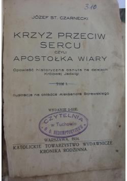 Krzyż przeciw sercu 1933r