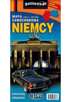 Mapa samochodowa - Niemcy 1:650 000