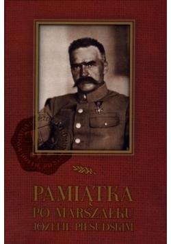 Pamiątka po Marszałku Józefie Piłsudskim