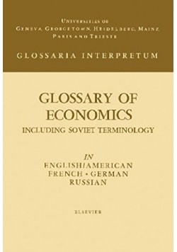 Glossary of economics