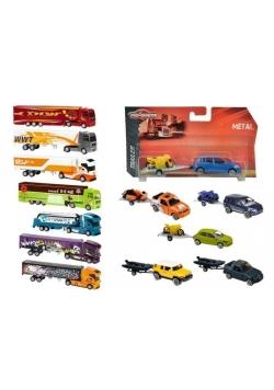Pojazdy z przyczepami, 12 rodzajów