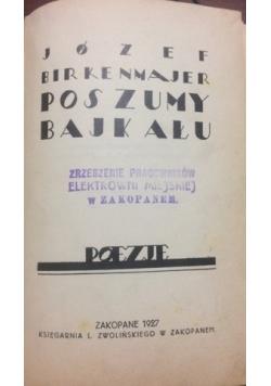 Poszumy Bajkału, 1927 r.