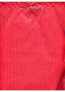 Worek szkolny Gimboo bez nadruku czerwony