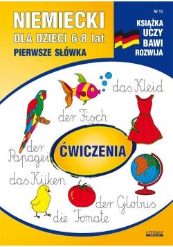 Niemiecki dla dzieci 6-8 lat Zeszyt 13