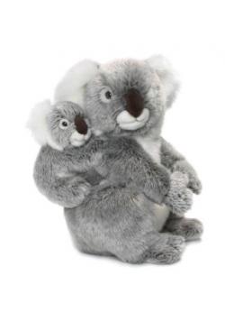 Koala z dzieckiem 28cm WWF