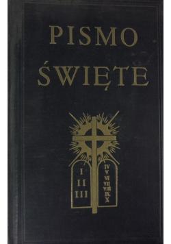 Pismo Święte tom I, 1927 r.