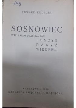 Sosnowiec, 1938r.