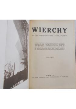 Wierchy, 1927