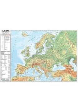 Europa 1:10 000 000 mapa pol. i fiz. ścienna