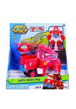 Super Wings Pojazd transformujący Jett