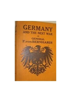 Germany and the next war, 1914r