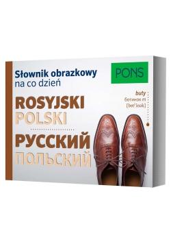 Słownik obrazkowy na co dzień polski-rosyjski