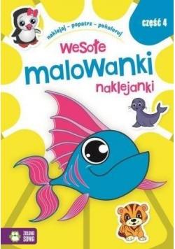 Wesołe Malowanki Naklejanki cz.4