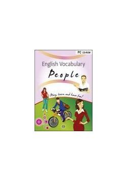 English Vocabulary. People CD